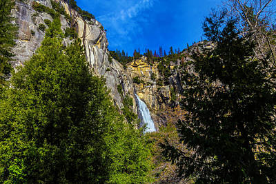 Photograph - Yosemite Wildcat Falls by Garry Gay