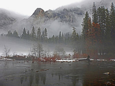 Photograph - Yosemite Winter Beginnings by Walter Fahmy
