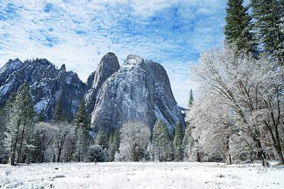 Photograph - Yosemite Winter Fantasy by Benedict Heekwan Yang