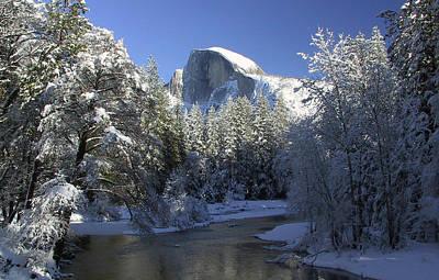 Photograph - Yosemite Winter by Tom Kidd