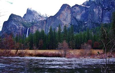 Photograph - Yosemitie Valley by Phyllis Spoor