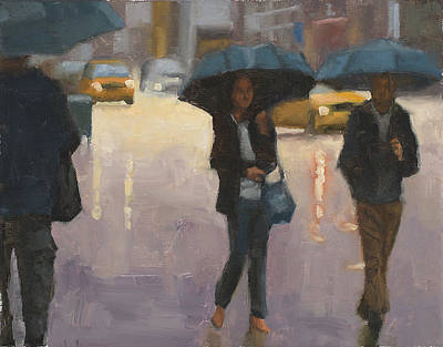 Painting - You And I And The Rain by Tate Hamilton