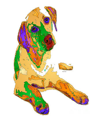 Digital Art - You And Me Forever. Pet Series by Rafael Salazar
