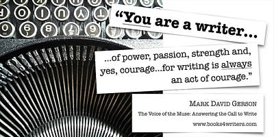 Digital Art - You Are A Writer by Mark David Gerson