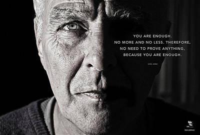 Photograph - You Are Enough Part 1 by ISAW Gallery