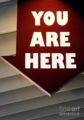 Photograph - You Are Here by Bob Pardue