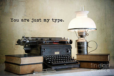 Photograph - You Are Just My Type by Bonnie Barry