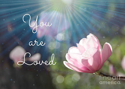 Valentine Gift Ideas Photograph - You Are Loved by Carol Groenen