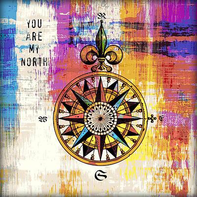 Rusty Trucks - You are my North v2 by Brandi Fitzgerald