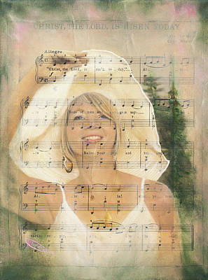 Prophetic Mixed Media - You Are My Song by Jeanette Sthamann