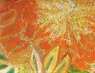 You Are My Sunshine Flower Art Print by Anne-Elizabeth Whiteway