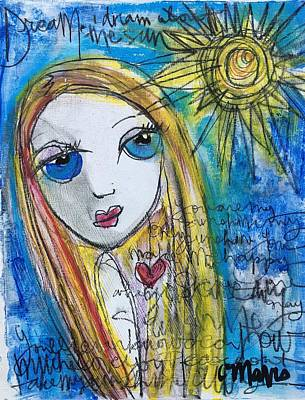 You Are My Sunshine  Art Print by Laurie Maves ART