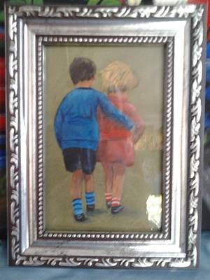 Painting - You Are My World by Catherine Swerediuk