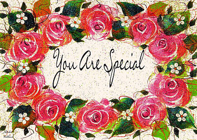Painting - You Are Special by Natalie Holland