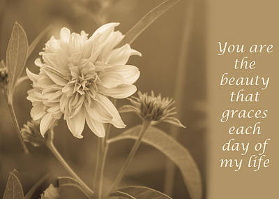 Photograph - You Are The Beauty by Joni Eskridge