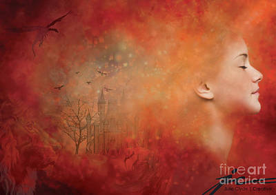 Wall Art - Digital Art - You Are Your Thoughts by Julie Clyde