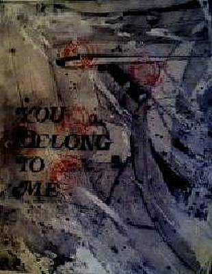 Painting - You Belong To Me A Book Of Musical Compositions By Rebecca Tacosa Gray  by Rebecca Tacosa Gray