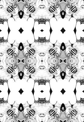 Atom Mixed Media - You Bet We Do by Helena Tiainen