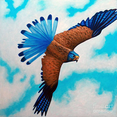 Soaring Painting - You Bring Me Joy by Brian Commerford