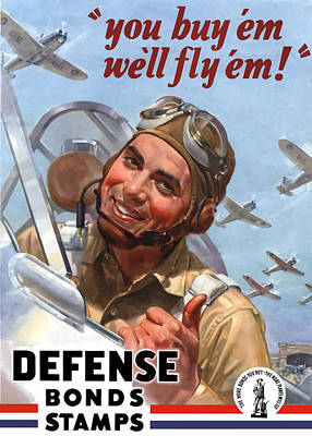 Americana Digital Art - You Buy 'em We'll Fly 'em by War Is Hell Store