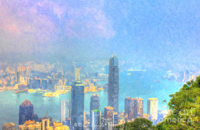 Painting - You Can Leave Hong Kong  by Chris Armytage
