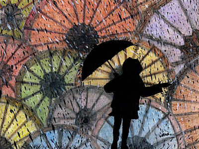You Can Stand Under My Umbrella Art Print by Sowjanya Sreeram