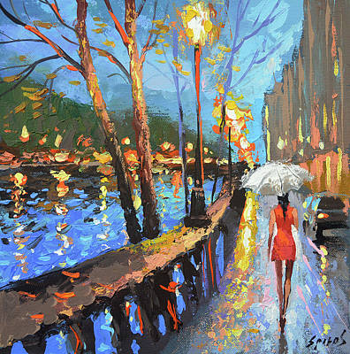 Painting - You Don't Come by Dmitry Spiros