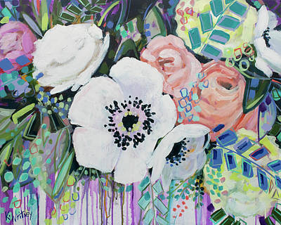 Floral Painting - You Had Me At Hello by Kristin Whitney