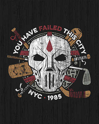 Casey Digital Art - You Have Failed Nyc by Little Black Heart