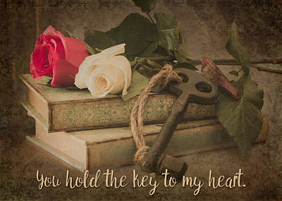 Photograph - You Hold The Key To My Heart by Teresa Wilson