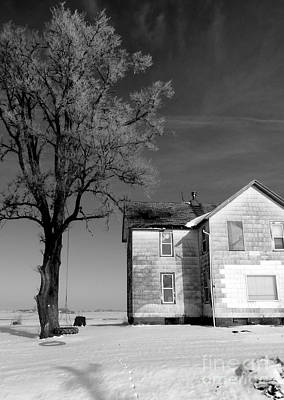 Iowa Farm Photograph - You Know Its Not No Easy Life by David Bearden