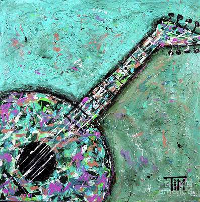 Painting - You Lute My Fire by Tim Ross