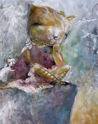 You Need A Hug Art Print by Eleatta Diver