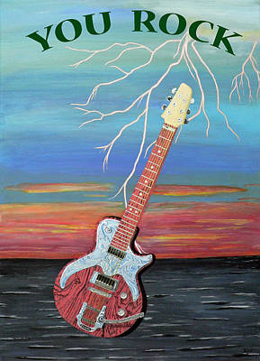 Electric Painting - You Rock by Eric Kempson