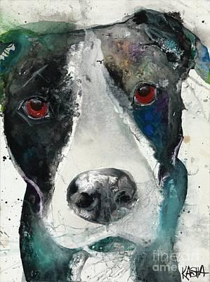 Labrador Retreiver Painting - You Said So by Kasha Ritter