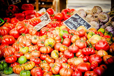 Art Print featuring the photograph You Say Tomato by Jason Smith