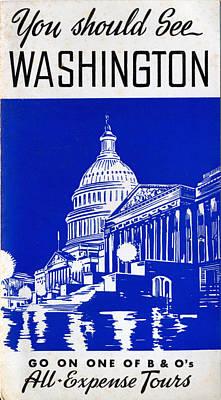 You Should See Washington Art Print