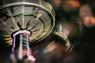 You Spin Me Right Round Art Print