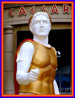 Digital Art - You Too, Brutus? by Ed Weidman