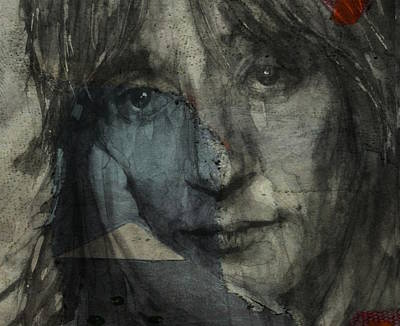 Mixed Media - You Wear It Well - Rod Stewart  by Paul Lovering