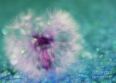 Floral Digital Art Digital Art - Your Wish Will Come True by Krissy Katsimbras