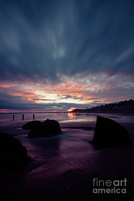 Photograph - Youghal Sunset 26 by Marc Daly