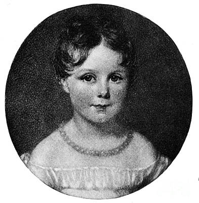 Ada Photograph - Young Ada Lovelace, 1819 by Science Source
