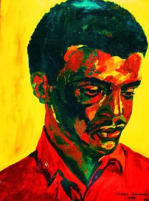 Young African Man Art Print by Carole Spandau
