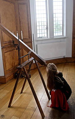 Photograph - Young Astronomer by John Meader