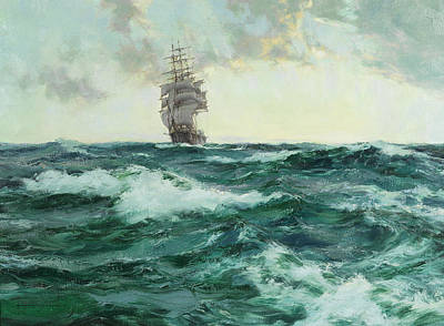 Sphere Painting - Young Australia by Montague Dawson