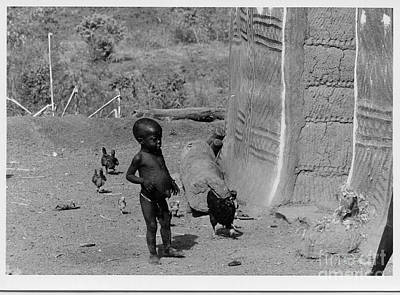 Photograph - Young Boy In Dogon Village by Yali Shi