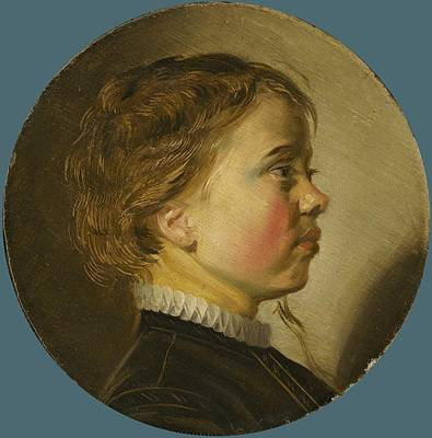 Painting - Young Boy In Profile,  Judith Leyster, 1630 by Celestial Images