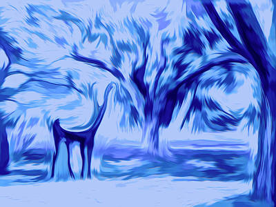 Photograph - Young Buck - Abstract by Leslie Montgomery