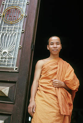 Photograph - Young Buddhist Monk by Robert Holden